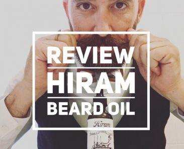 olio da barba hiram recensione