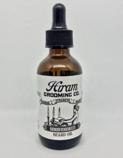 olio da barba - naturale e vegano - hiram