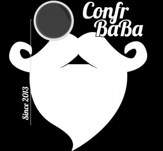 Logo Confraternita della barba e dei baffi - #ConfrBaBa
