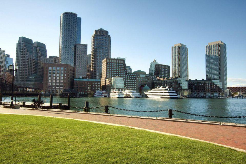 triangolo della barba - boston